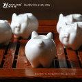 Свинья животное форма дизайн керамическая подставка для зубочисток
