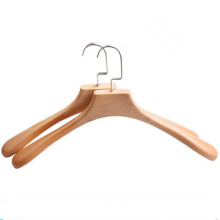 Высокое качество бутик-деревянная вешалка подвижный полюс оптом
