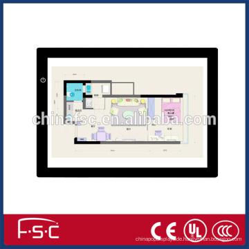Professeional führte die Ablaufverfolgung Board a3 mit Acrylplatte