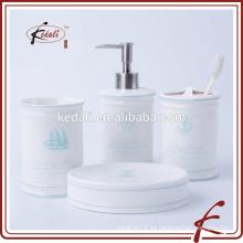 En existencia Set de baño de cerámica