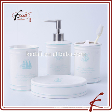 In Stock Ceramic Bath Set