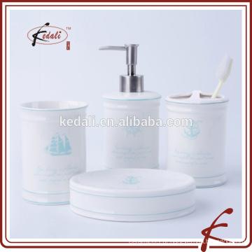 Conjunto de banho de cerâmica em estoque