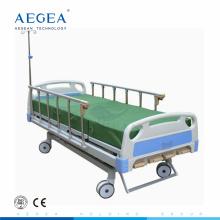 AG-BMS001B 4-pièces têtes de lit en acier manivelle manuel réglable hôpital médical lit médical