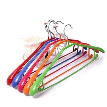 PVC-beschichtete Customized BreitShoulder Metallaufhänger zum Trocknen