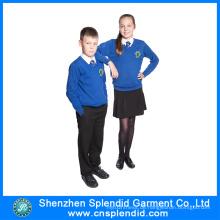 2017 neue Stil Winter Trendy Student School Uniform Patterns