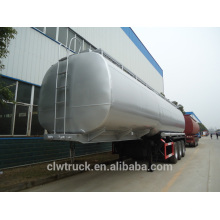 2015 factory supply 30m3 fuel tanker trailer, tri-axle fuel tanker truck trailer