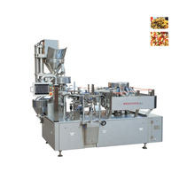 Rotary Automatic Sauces Vegetables Vacuum Packing Machine For Preserved Pickle