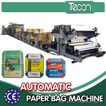 Линия для производства мешков с многослойной цементной бумагой