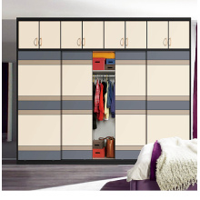 2016 New Modern Wooden Sliding Door Wardrobe Bedroom Sets (customized)