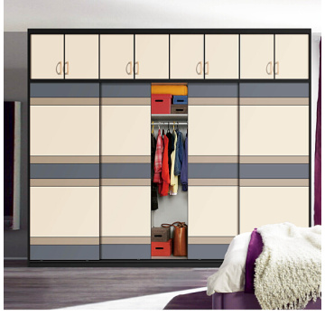 2016 New Aluminium Profile Sliding Wardrobe Door (customized)