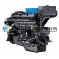198 kW Una. Marine Dieselmotor der Serie 135. Shanghai Dongfeng Dieselmotor für Schiffsmotoren. Sdec Motor