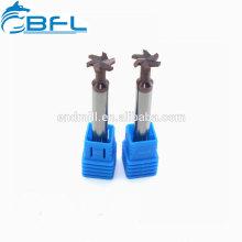 BFL-Vollhartmetall-T-förmige beschichtete Schaftfräser
