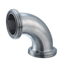 Haute qualité A403 Ss316L 90 Coude en acier inoxydable 100 degrés Lr sans soudure