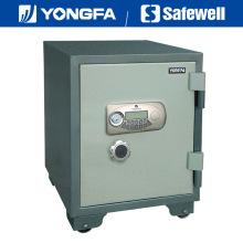 Caja de seguridad electrónica ignífuga del panel de Ale de Yongfa los 60cm con la perilla