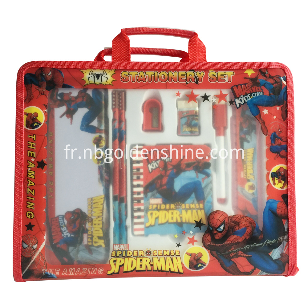 Spider Man Take Along Stationery