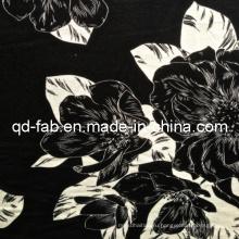 Rayon / Spandex печатных Джерси ткани (QF13-0700)