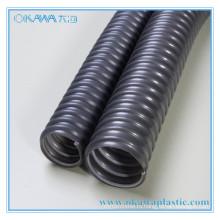 Серый ПВХ стальной шланг в ID32mm из Китая