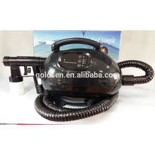 Mini-bermot d'intérieur Système de machine de bronzage à pulvérisation portable Airbrush professionnel HVLP Home Brûleur de bronzage