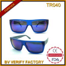 Gafas de sol de Tr040 plano Tr90