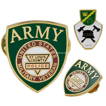 Emblema atacado sem mínimo de alfinetes de metal personalizados