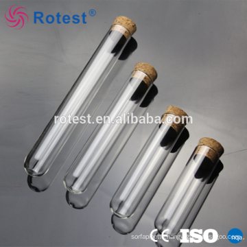 wholesale glass test tube with cork for sale
