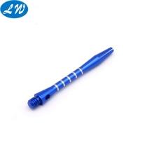 Componente de bolígrafo de aluminio anodizado azul personalizado