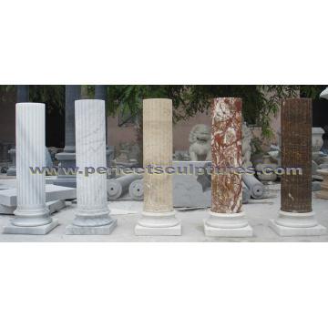 Stone Granite Sandstone Marble Column for Home Decoration (QCM0132)