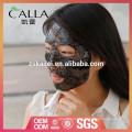 Máscara facial do teste padrão do laço de OEM / ODM para a pele danificada reparo