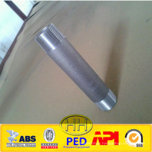 high quality ISO PED certificates carbon and stainless steel pipe nipple