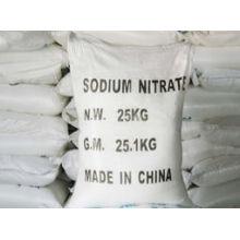 Удобрение 99% промышленного удобрения нитрата натрия