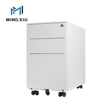 Mingxiu Steel 3 Drawer Movable Office Furniture File Cabinet