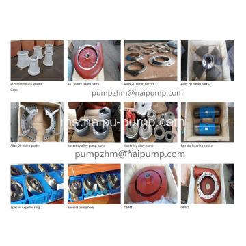 OEM high chrome slurry pump spare parts