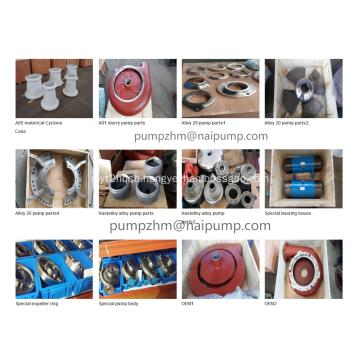 OEM high chrome slurry pump spare parts