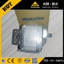 Komatsu parts WA120-1LC pump assembly wheel loader parts 705-11-34011A