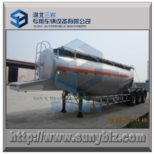 6 Wheels 36000L Dry Bulk Powder Tank Semi Trailer