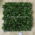 Сад lastest дизайна искусственные зеленые изгороди с листьев для скрининга