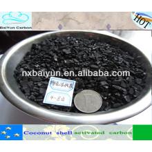 1-6 сетки скорлупы кокосового ореха на основе гранулированного активированного угля