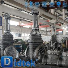 Didtek Válvula de portão de engrenagem cônica de tipo api de qualidade superior
