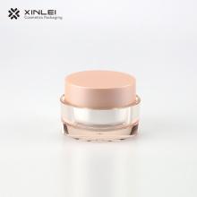 50 g doppelwandiges kosmetisches Kunststoff-Acrylglas