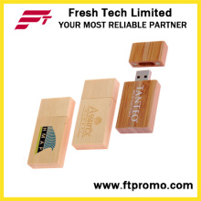 Пользовательский Bamboo & Wood Style USB Flash Drive (D820)