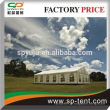 20x30m Aluminiumrahmen Hochzeitszelt Party Zelt mit Fioor System und Teppich / Futter Dekoration