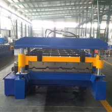 Automatic IBR Metal Sheet Cold Roll Forming Machine