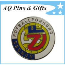 Souvenir en métal de haute qualité en imitation en or Cloisonne en métal (badge-032)
