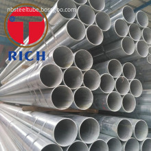 GI Carbon Steel Pipe Galvanized Tube for Water and Gas