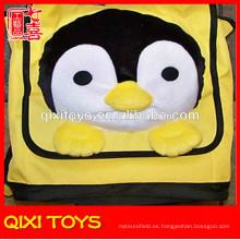 mochila de felpa de pingüinos niños