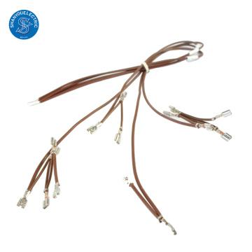 O fabricante personalizou o conjunto de cabo da fiação do chicote de fios do fogão elétrico