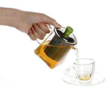 New Fashion Design for Glass Teapot With Infuser Glass Teapot Loose Tea Leaf Maker Stove Safe export to China Suppliers