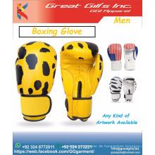 Hot Sale Professionelle Boxhandschuhe / MMA Handschuhe nach Maß