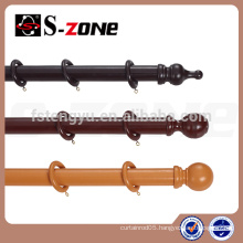35 mm Wooden Curtain Rods