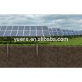 Ground Screw Post Anchor 1MW Solar Power Plant